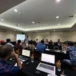 Proses Training Mentor Lasercom Yang Bersertifikasi